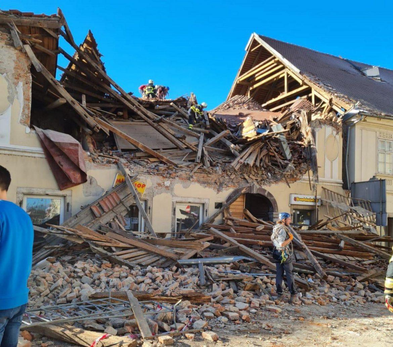 U Petrinji novi zemljotres umerene jačine