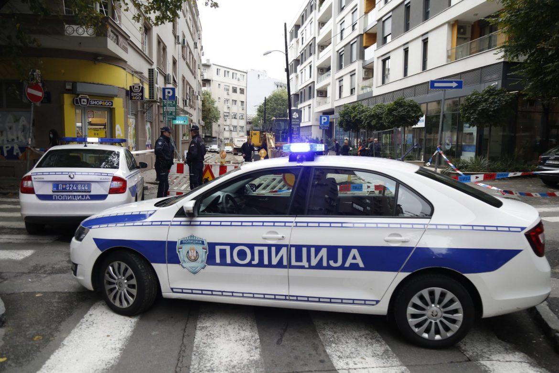 Bomba na gradilištu u Beogradu