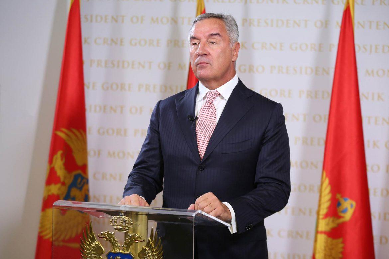 Đukanović vratio zakone