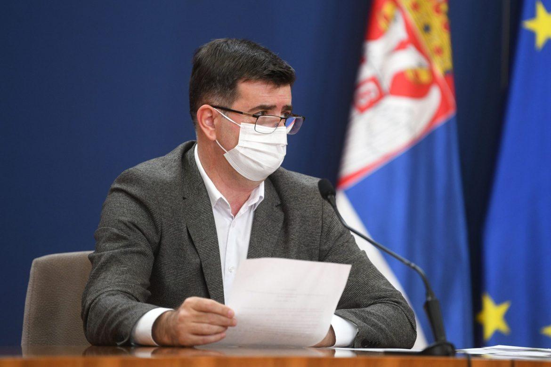 Đerlek: Napravljen detaljan plan za imunizaciju, danas stiže 19.500 doza Fajzerovih vakcina