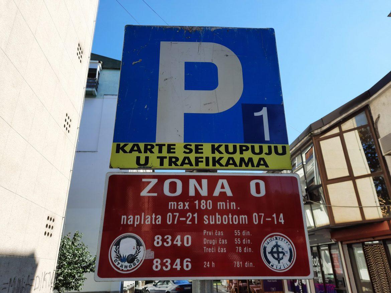 Kragujevac: Ukinuta dnevna parking karta u nultoj zoni
