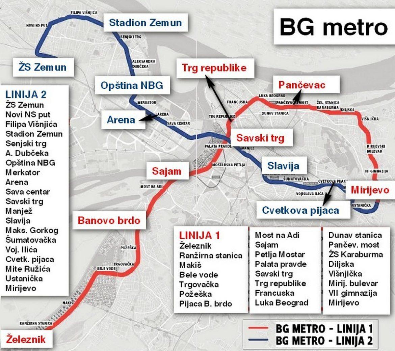 Potpisan memorandum o izgradnji metroa u Beogradu