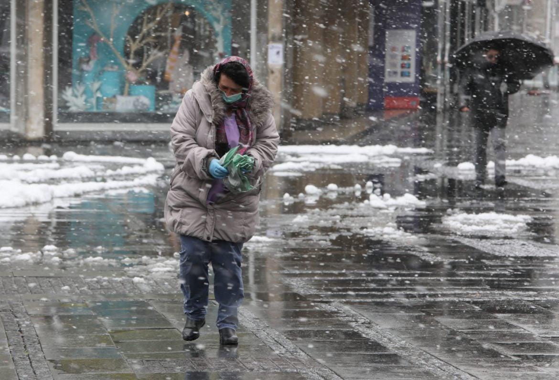 Poslednjeg dana januara kiša i sneg