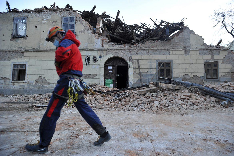 Novi snažan zemljotres kod Petrinje, magnitude 5,3 jedinica Rihtera