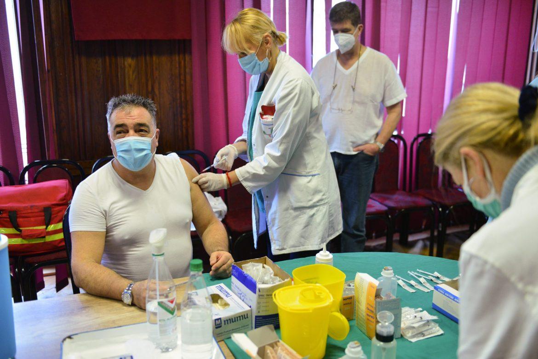 U Beogradu vakcinisano 1 300 ljudi