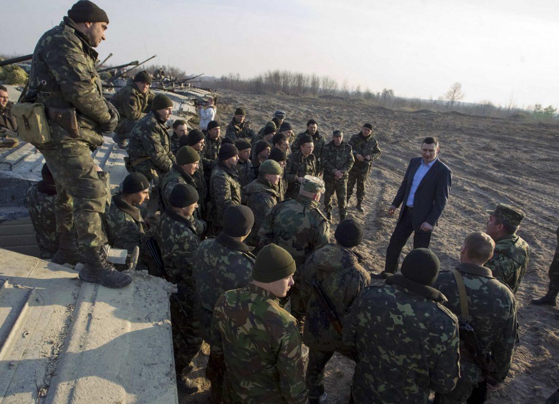 Ukrajinski vojnici na Kosovu