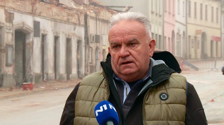 Gradonačelnik Petrinje: Jutrošnji potres se jako osetio, danas u Petrinji više niko nije normalan