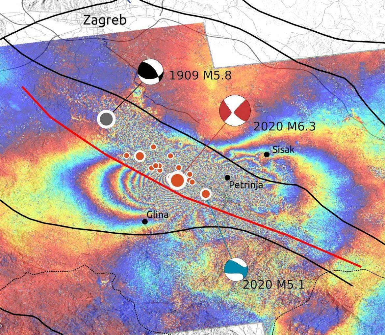 Novi potres kod Petrinje i Siska