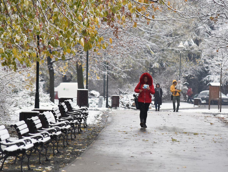 Oblačno i hladno, negde sa snegom