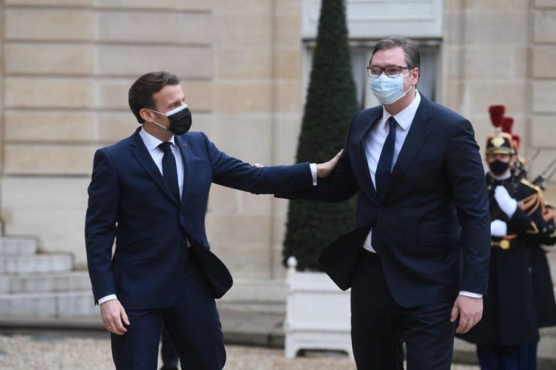 Makron: Srbija zauzima važno mesto za Francusku