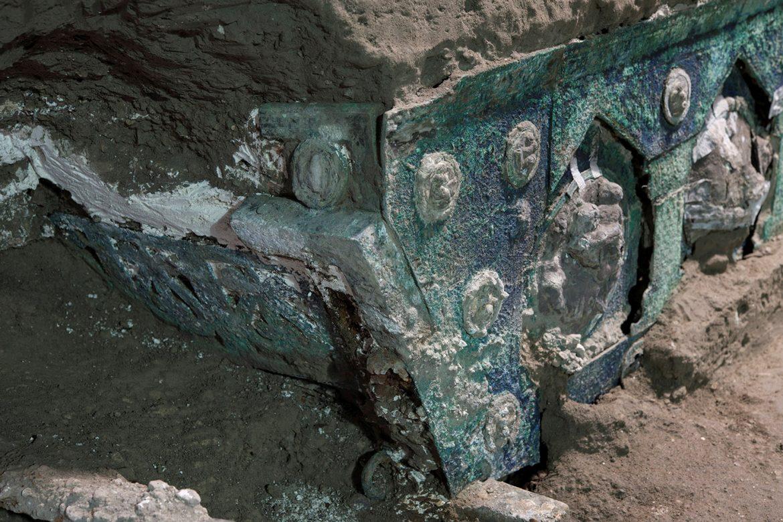 Arheolozi kod Pompeje pronašli ceremonijalne kočije