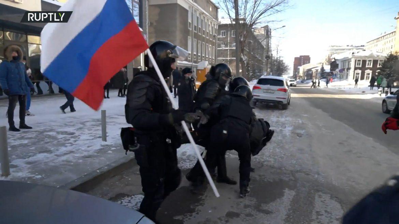 Rusija proterala diplomate koji su učestvovali u protestima podrške Navaljnom