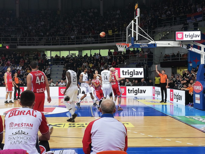 Partizan polufinalista kupa Radivoja Koraća