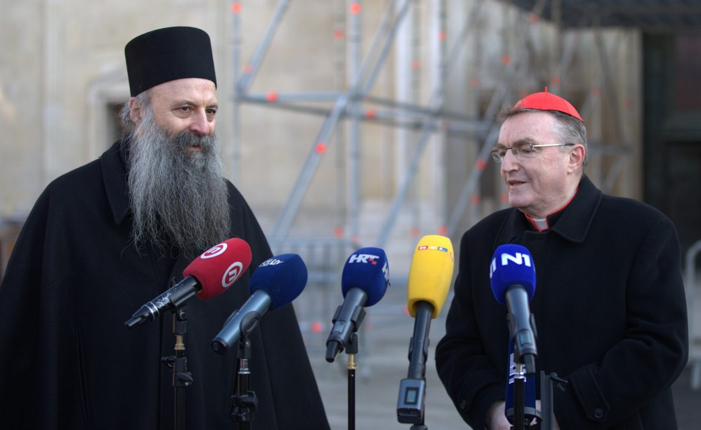 Kardinal Bozanić čestitao novoizabranom patrijarhu SPC