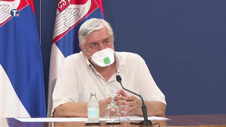 Tiodorović: Nema opuštanja, još uvek veliki broj zaraženih
