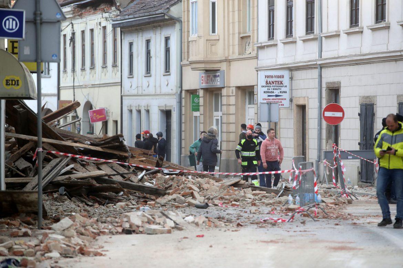Novi zemljotres kod Petrinje magnitude 4,1