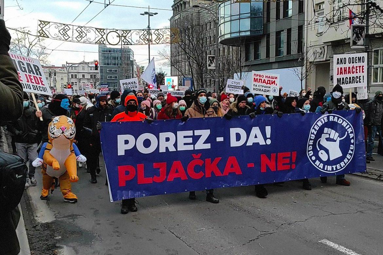Predlog Vlade Srbije neprihvatljiv za frilensere
