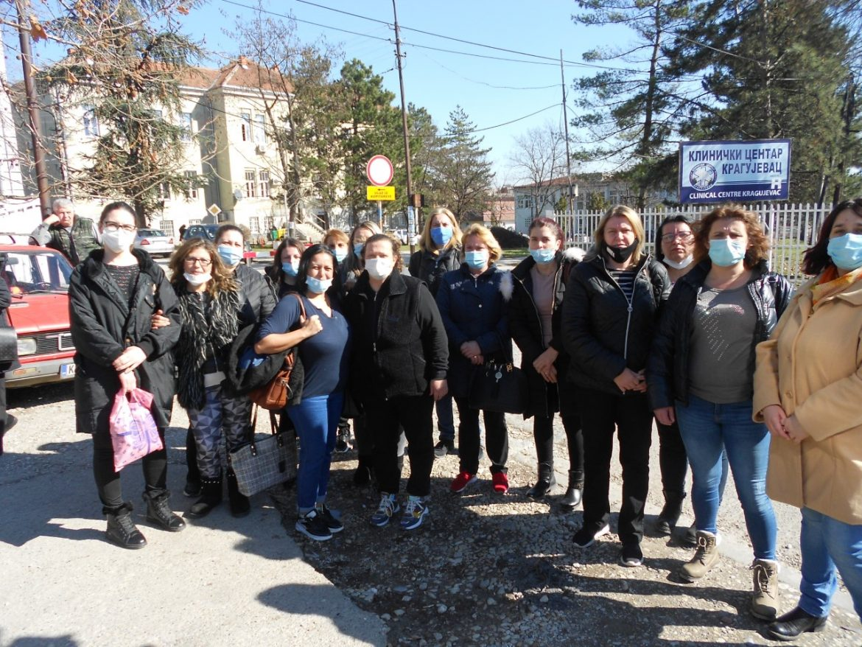 Pomoćne radnice UKC Kragujevac bez posla od 1. marta