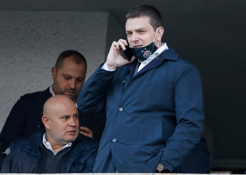 Generalni direktor FK Partizana na informativnom razgovoru