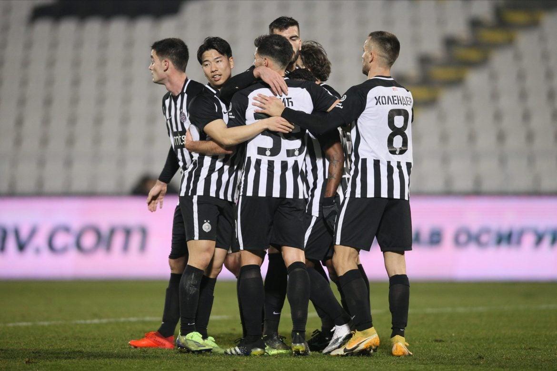 Ubedljiva pobeda fudbalera Partizana