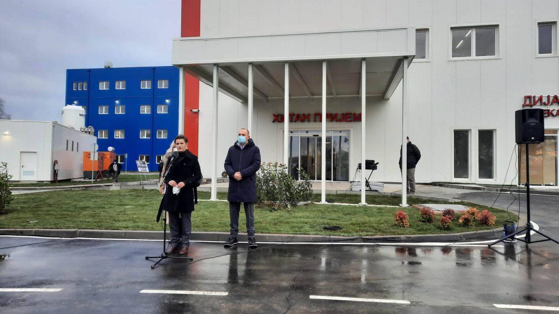 Marković: Bolnica u Batajnici skoro popunjena, normalni život tek na jesen