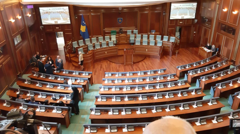 Konstitutivna sednica Skupštine Kosova, bira se predsednik