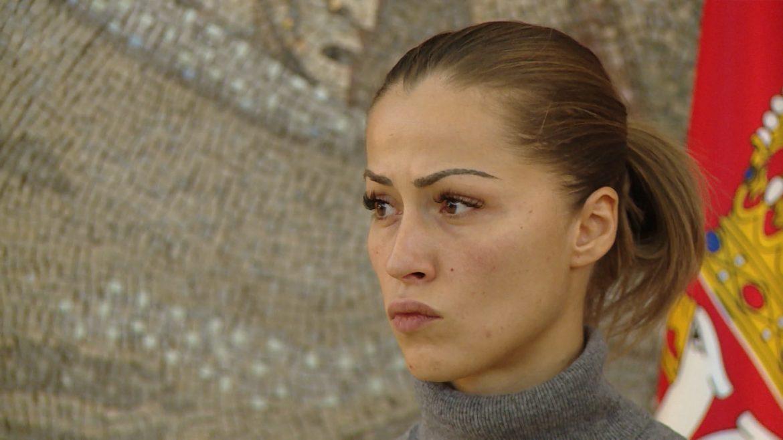 Dijana Hrkalović dala izjavu u SBPOK-u