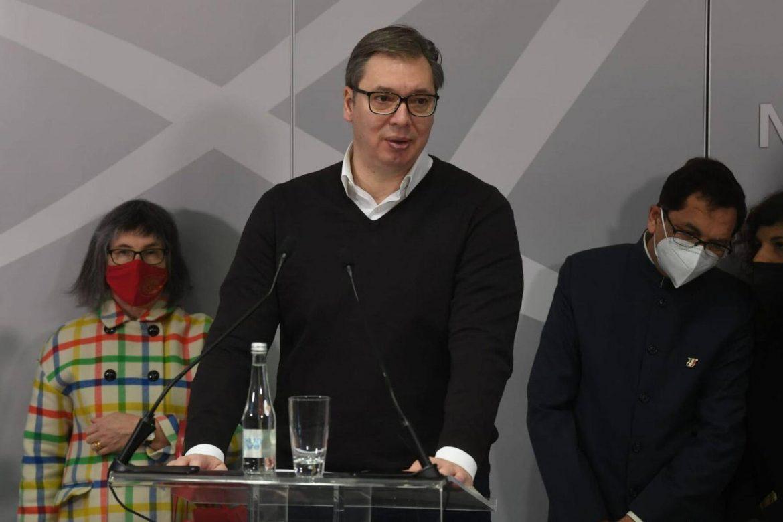 Vučić danas u Sarajevu uručuje vakcine koje Srbija donira BiH