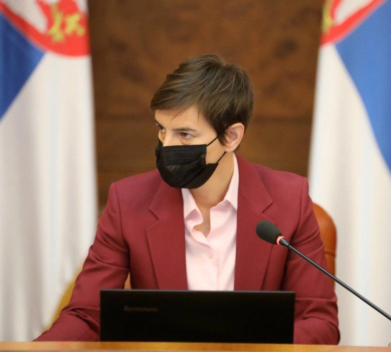 Brnabić: Do početka sledeće nedelje plan o PCR testiranju svih koji ulaze u Srbiju