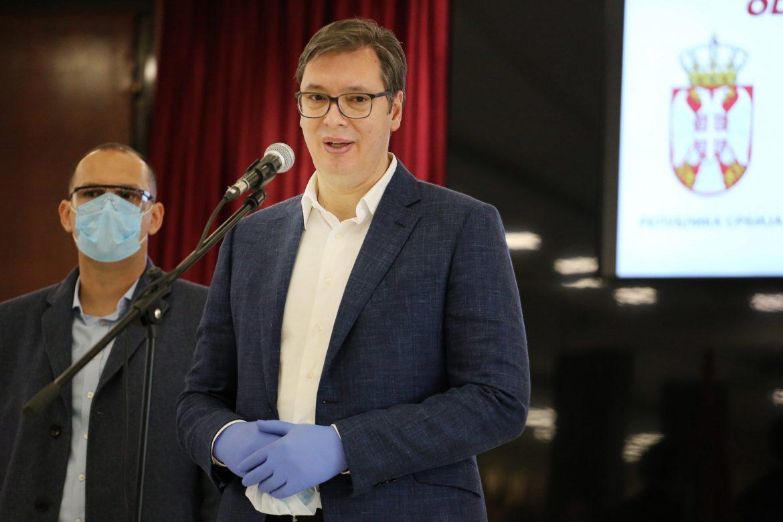 Vučić danas uručuje respiratore i drugu opremu za Republiku Srpski