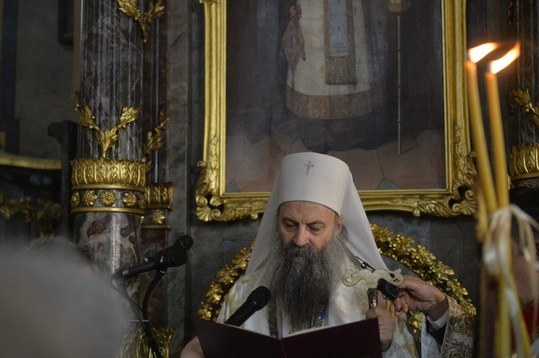 Patrijarh Porfirije u Pećkoj patrijaršiji