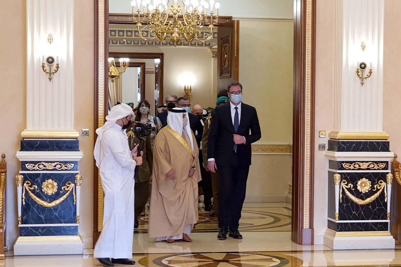 Svečani doček za predsednika Vučića u Bahreinu