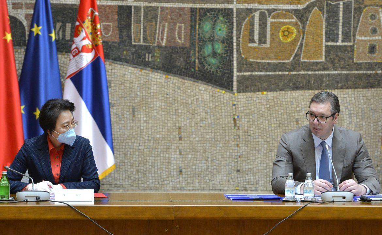 Vučić: Ogromna saradnja sa Kinom