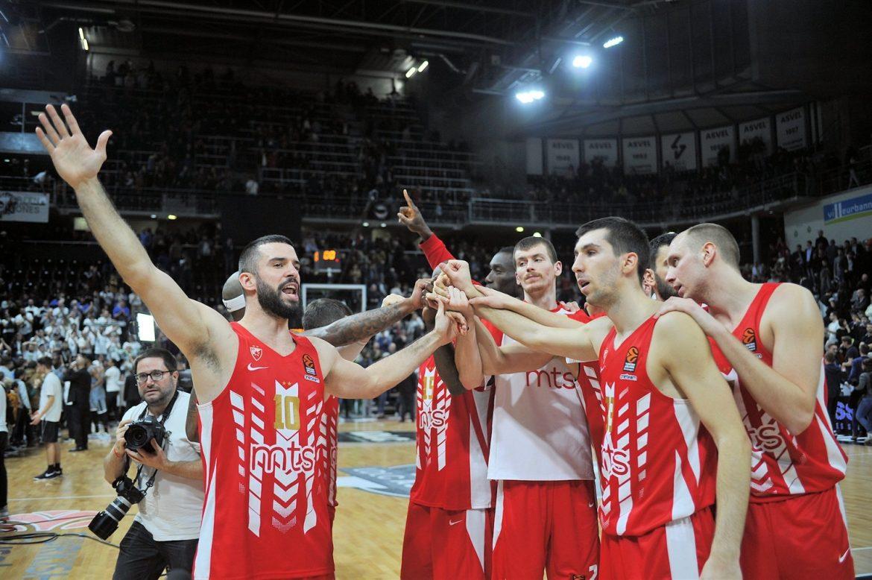 Pobeda košarkaša Crvene zvezde