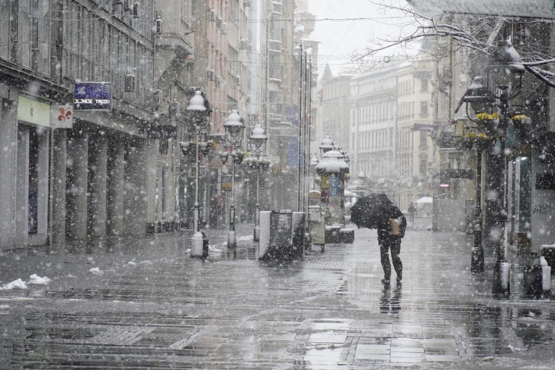 Danas hladno, susnežica i sneg