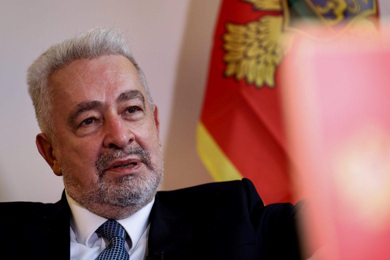 Krivokapić: Spremni smo da primimo akreditive Božovića