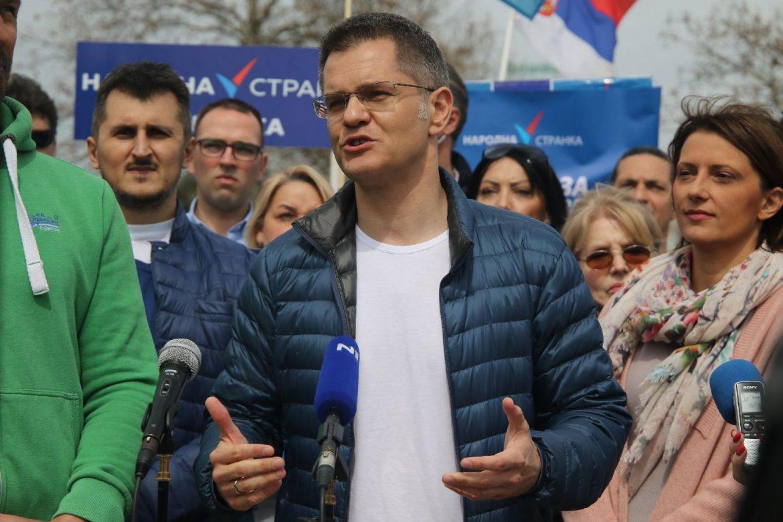 Jeremić: Ako se ne promene izborni uslovi, nećemo izaći na izbore