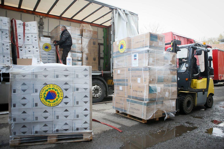 Slovenija pomaže Srbiji u borbi protiv pandemije