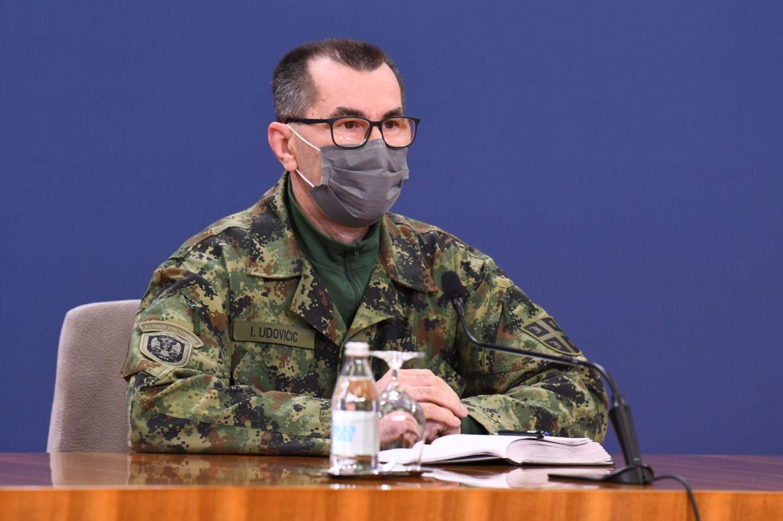 Udovičić: Koronavirus smrtonosan, nema nameru da napusti naše prostore