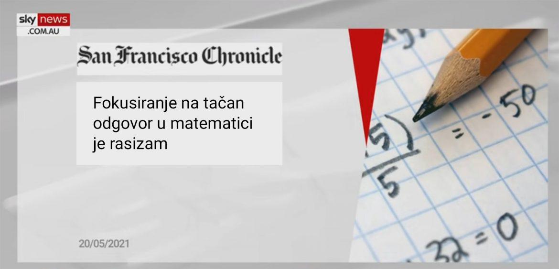Matematika je rasistička
