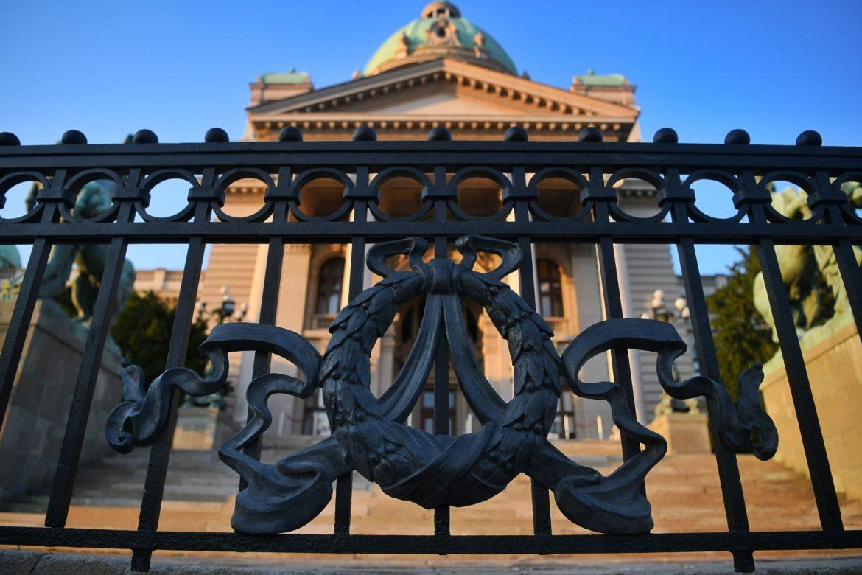 Vraćen deo ograde Skupštine Srbije uklonjen 1958. godine