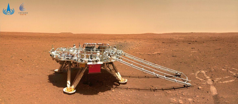 Objavljene forografije kineskog rovera sa Marsa