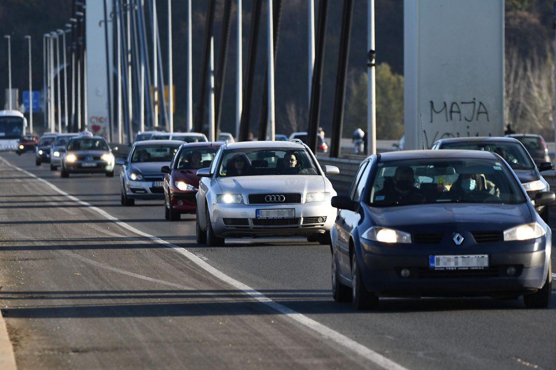 AMSS: Umeren saobraćaj, dobra prohodnost