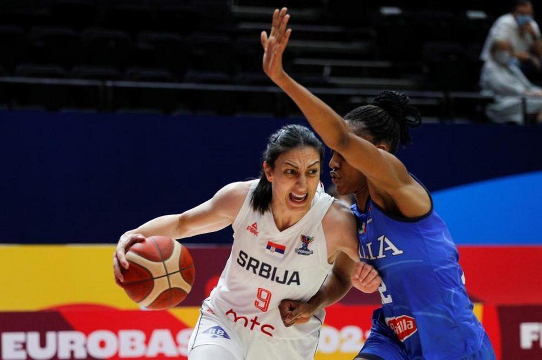 Ženska košarkaška reprezentacije Srbije u polufinalu EP