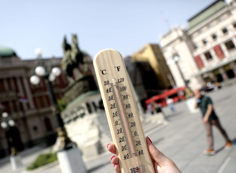 RHMZ: Na snazi narandžasti meteo-alarm, oprez zbog visokih temperatura