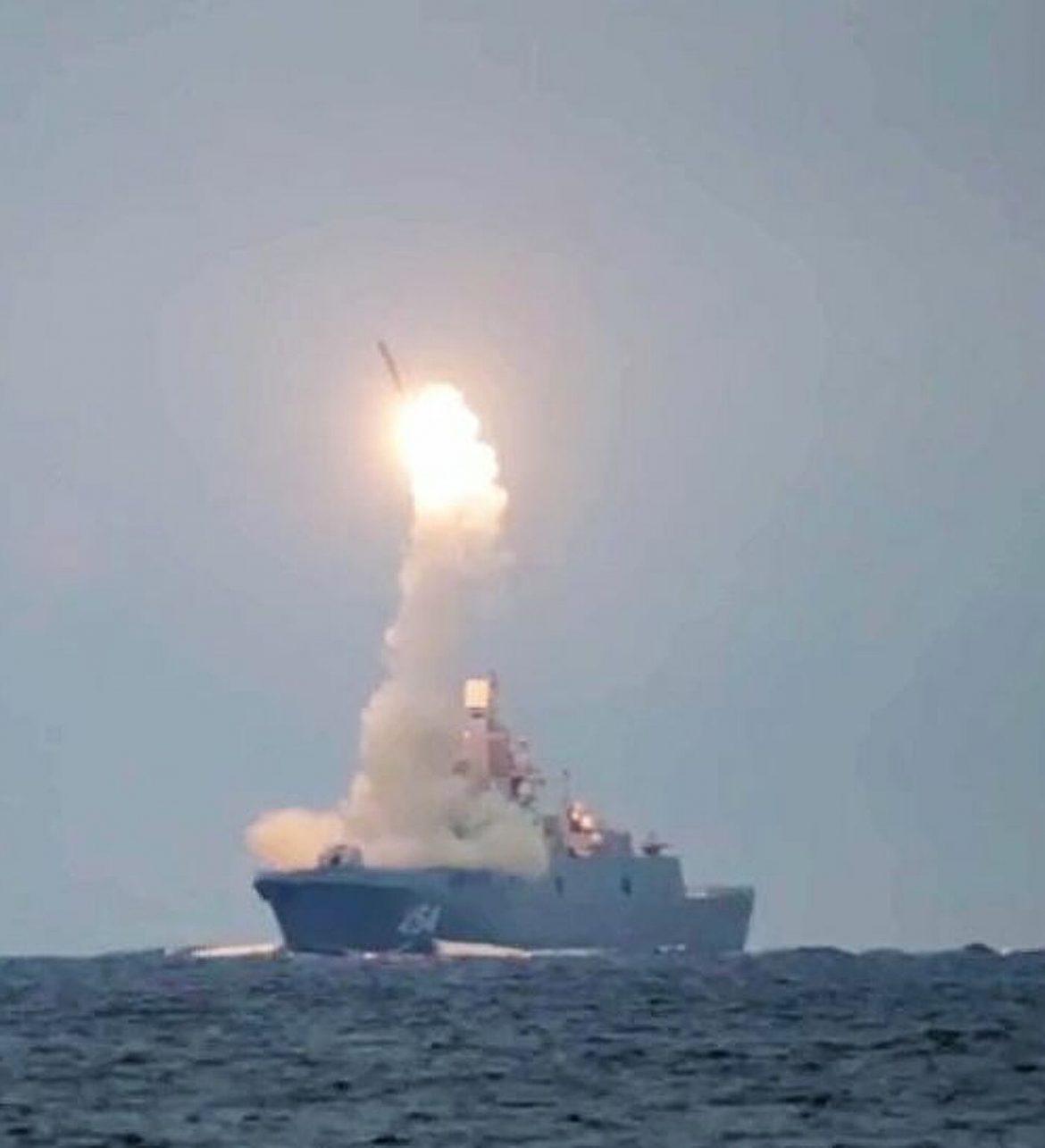 Ruska vojska uspešno lansirala supersoničnu krstareću raketu