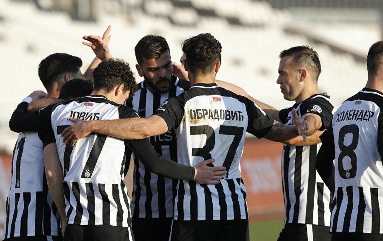 Pobeda fudbalera Partizana