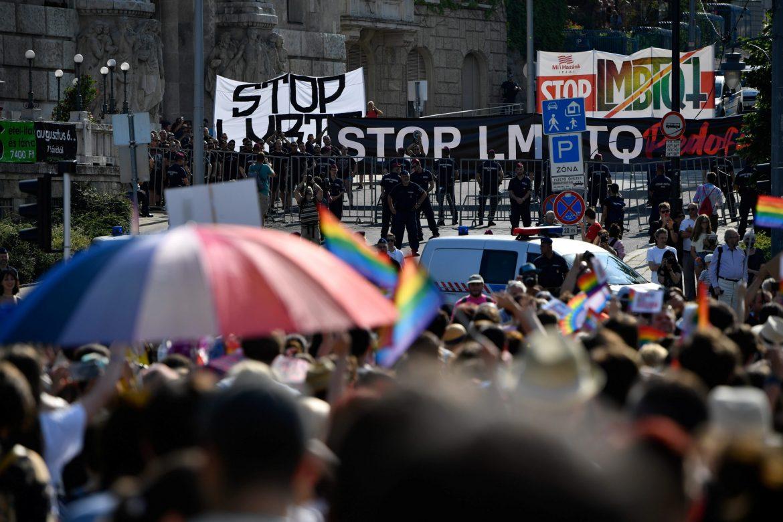 U Madjarskoj Parada ponosa u znaku protesta zbog zakona protiv LGBT