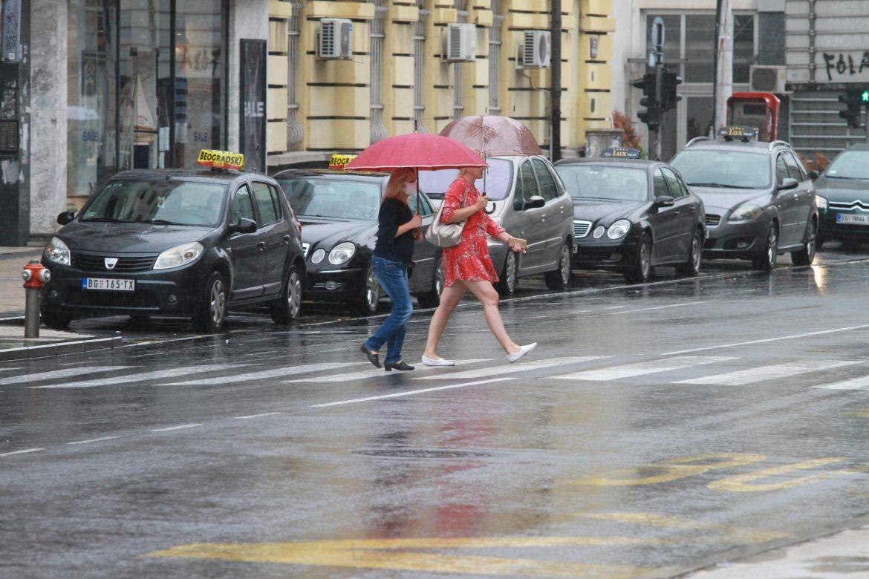 U Srbiji danas kiša i grmljavina, temperatura do 30 stepeni