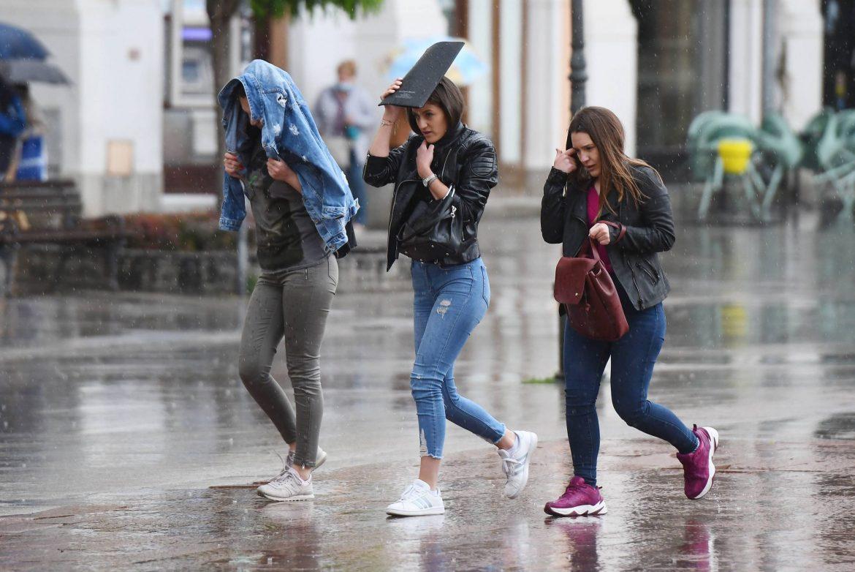 I danas u Srbiji kiša, pljuskovi i grmljavina